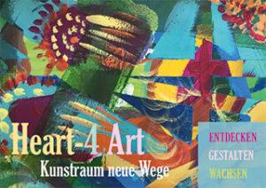Karte Heart 4 Art